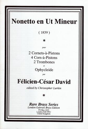 NONETTO in C minor