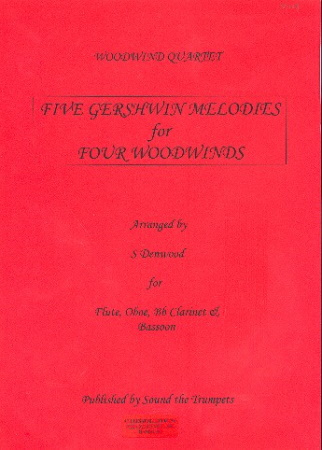 FIVE GERSHWIN MELODIES (score & parts)