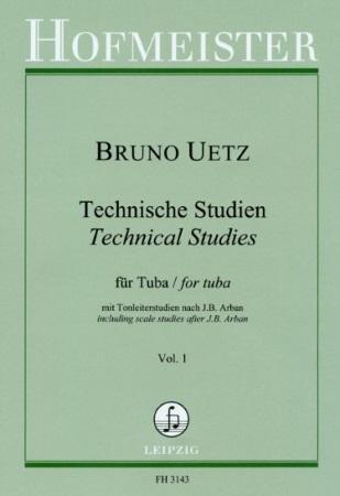 TECHNICAL STUDIES FOR TUBA Volume 1