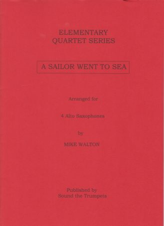 A SAILOR WENT TO SEA (score & parts)