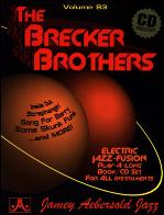 BRECKER BROTHERS Volume 83 + CD