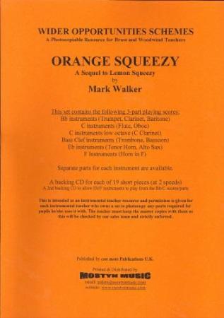 ORANGE SQUEEZY + CD Wider Opps Set