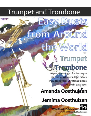EASY DUETS FROM AROUND THE WORLD for Trumpet & Trombone