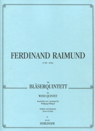 FERDINAND RAIMUND FOR WIND QUINTET