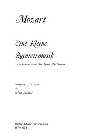EINE KLEINE QUINTETTMUSIK 1st Movement