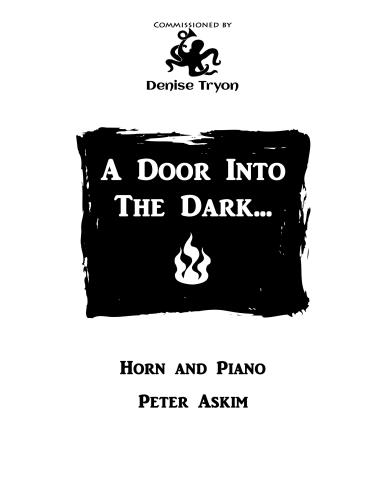 A DOOR INTO THE DARK...