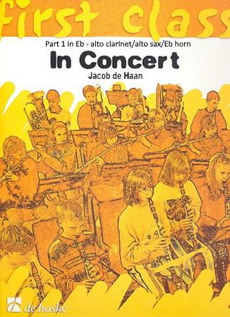 FIRST CLASS IN CONCERT Part 1 Eb: Alto Clarinet/Alto Sax/Eb Horn