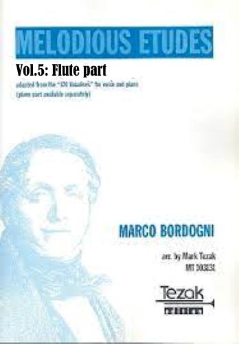 MELODIOUS ETUDES Volume 5