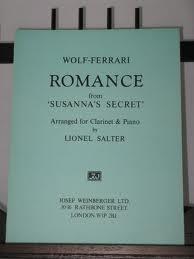 ROMANCE from 'Susanna's Secret'