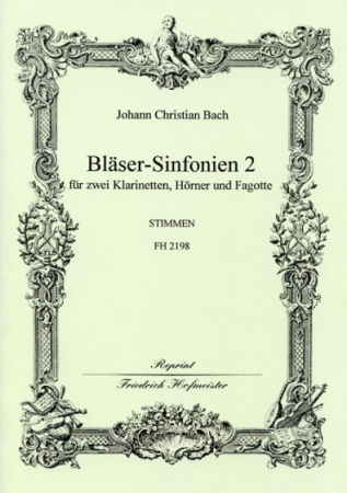 BLASER-SINFONIEN Volume 2 Nos.4-6 (set of parts)