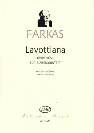 LAVOTTIANA (score & parts)