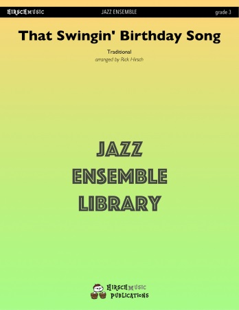 THAT SWINGIN' BIRTHDAY SONG (score & parts)