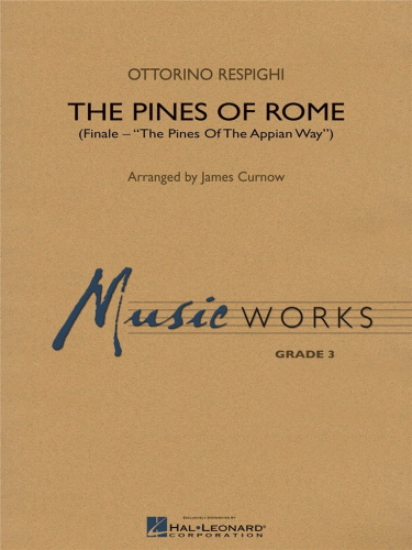 THE PINES OF ROME (score & parts)