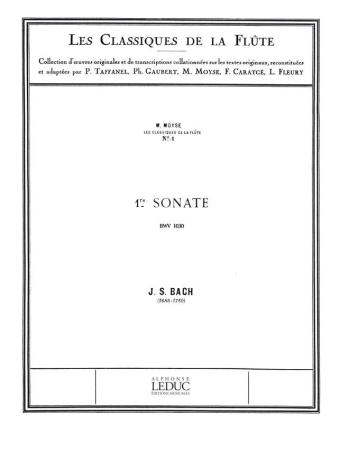 SONATA No.1 in b minor
