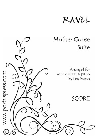 MOTHER GOOSE SUITE (score & parts)