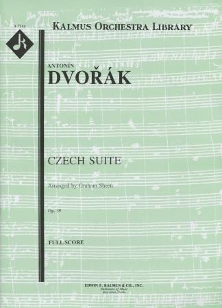 CZECH SUITE Op.39 (score & parts)