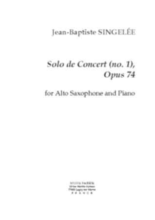 SOLO DE CONCERT No.1 Op.74