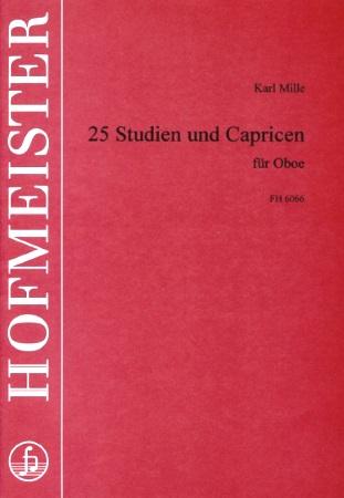 25 STUDIES AND CAPRICES