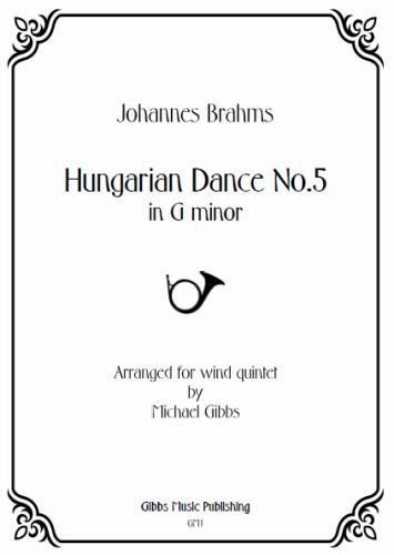 HUNGARIAN DANCE No.1 (score & parts)