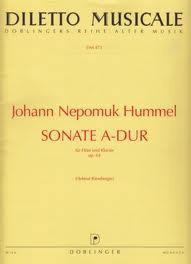 SONATA in A major Op.64