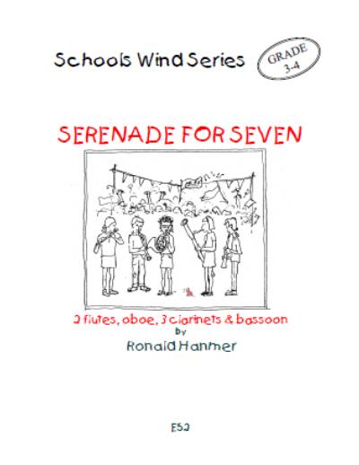 SERENADE FOR SEVEN (score & parts)