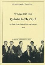 QUINTET in Eb major Op.8 (score & parts)