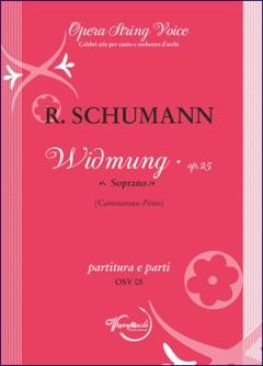 WIDMUNG Op.25 score & parts