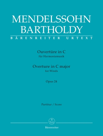 OVERTURE in C major Op.24 (score)