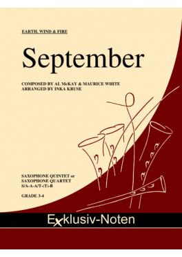 SEPTEMBER (score & parts)