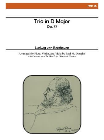 TRIO in D major Op.87 (score & parts)