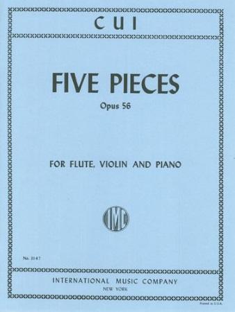 FIVE PIECES Op.56