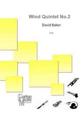 WIND QUINTET No.2 (score & parts)