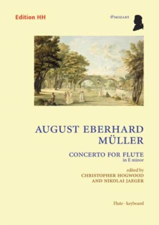 FLUTE CONCERTO in E minor Op.19
