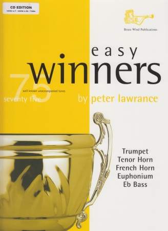 EASY WINNERS for Treble Brass + CD (F/Eb Edition)
