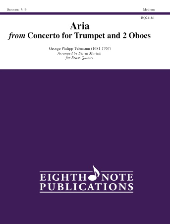 ARIA from Concerto for Trumpet & Two Oboes