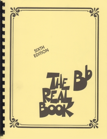 THE Bb REAL BOOK (6th Edition)
