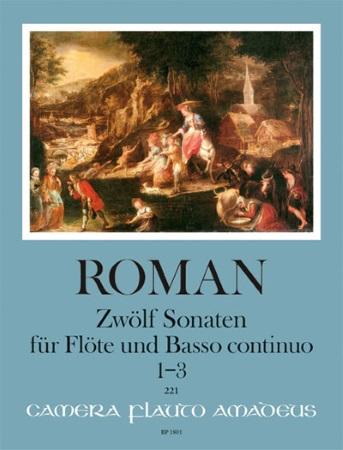 TWELVE SONATAS Nos.1-3