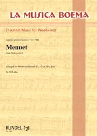 MENUET from Sinfonia in E major