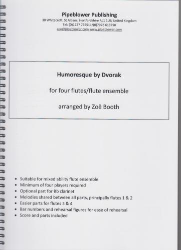 HUMORESQUE score & parts
