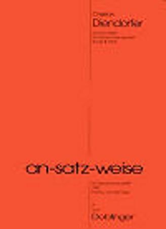 AN-SATZ-WEISE