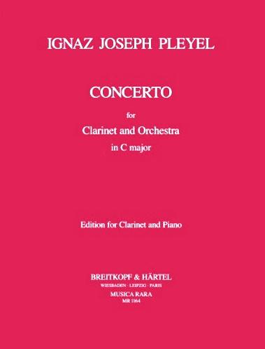CLARINET CONCERTO in C major