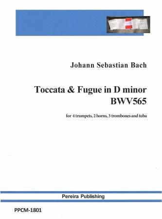 TOCCATA & FUGUE in D minor BWV565 (score & parts)