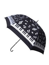 UMBRELLA Music Notes/Keyboard (Black and White)
