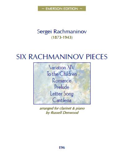 SIX RACHMANINOV PIECES