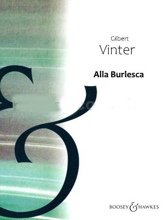 ALLA BURLESCA (score & parts)