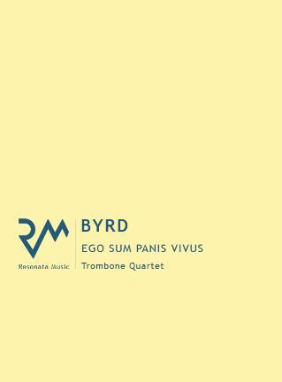 EGO SUM PANIS VIVUS score & parts