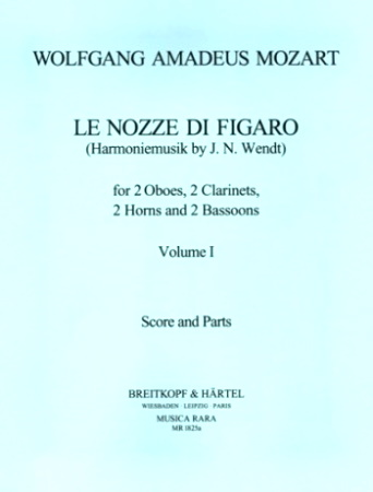 THE MARRIAGE OF FIGARO Volume 1