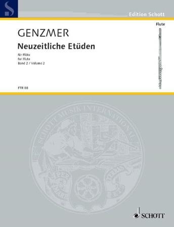 NEW (MODERN) STUDIES FOR FLUTE Volume 2