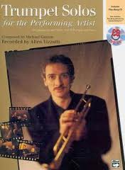 TRUMPET SOLOS for the Performing Artist + CD