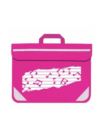 MUSIC BAG DUO Music Notes (Pink)